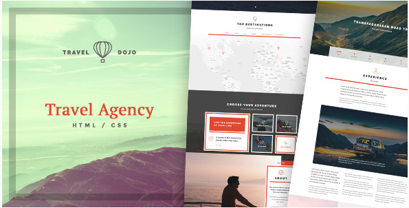 Travel Dojo - Travel Agency Tours HTML CSS