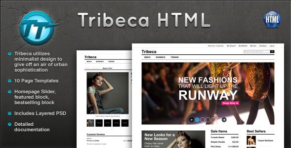 Tribeca eCommerce HTML Template