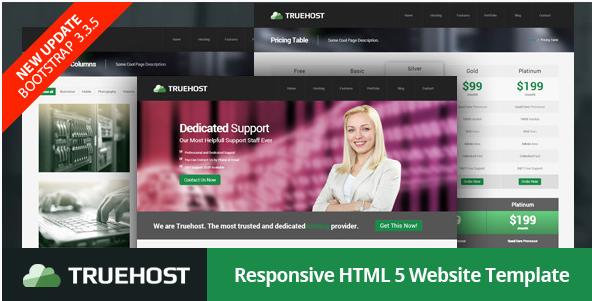 Truehost - Responsive HTML5 Hosting Template