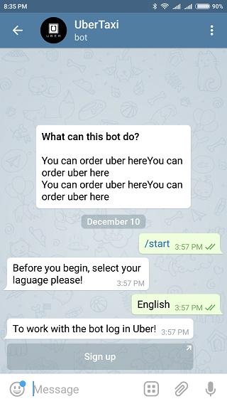 UberTaxi