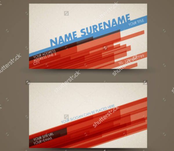 Vector-Old-Style-Business-Card