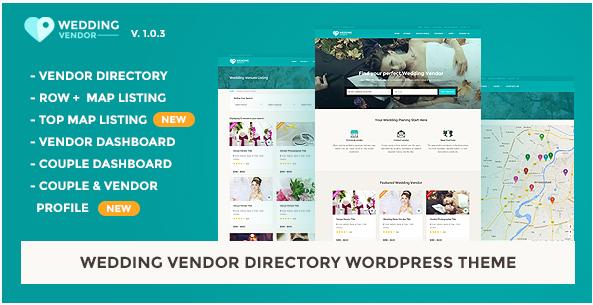 Vendor Directory HTML Template Wedding Vendor