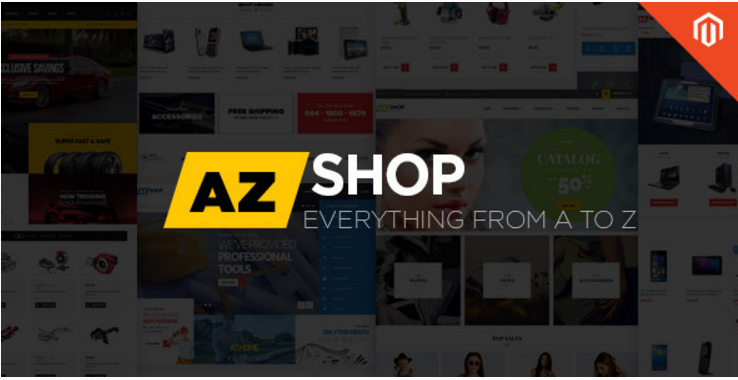 Ves AZ Shop Responsive Multipurpose Magento Theme