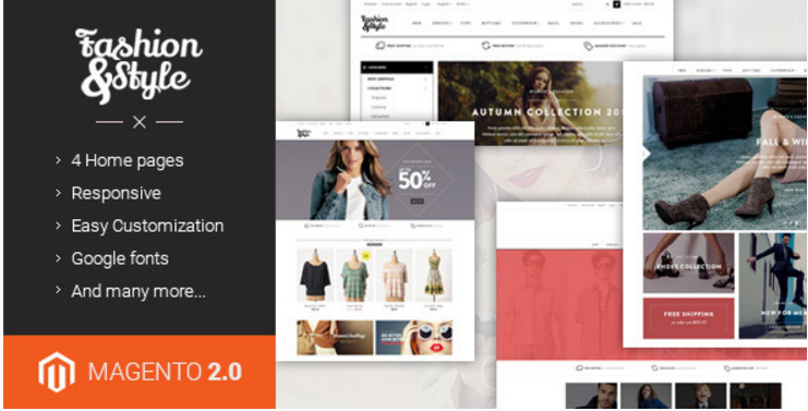 Ves Fashion - Responsive Multipurpose Magento 2 & 1 Theme