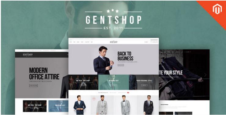 Ves GentShop - Great Fashion Magento Theme