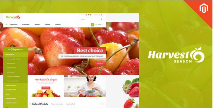 Ves Harvest Shop Responsive Magento Theme