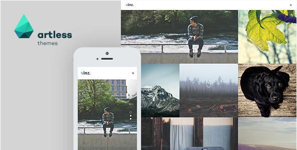 Vinz - Portfolio & Photography HTML Template