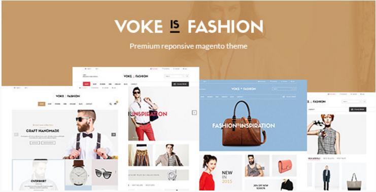 Voke - Multipurpose Responsive Magento Theme