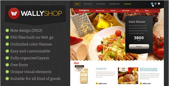 WallyShop eCommerce HTML Template