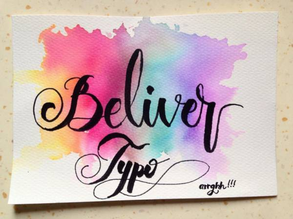 Water-Color-Prismatic-Typography