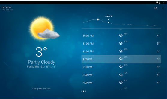 Best Free Weather Android App