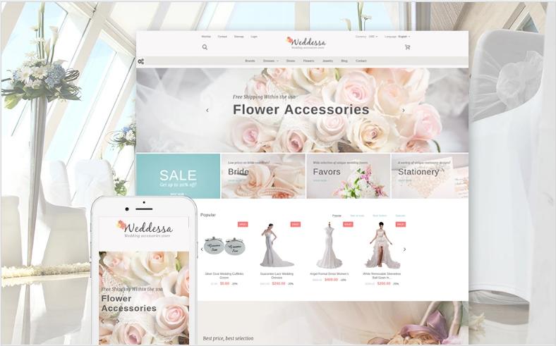 Weddessa - Wedding Store PrestaShop Theme