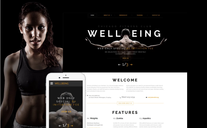 Best Fitness HTML Website Templates