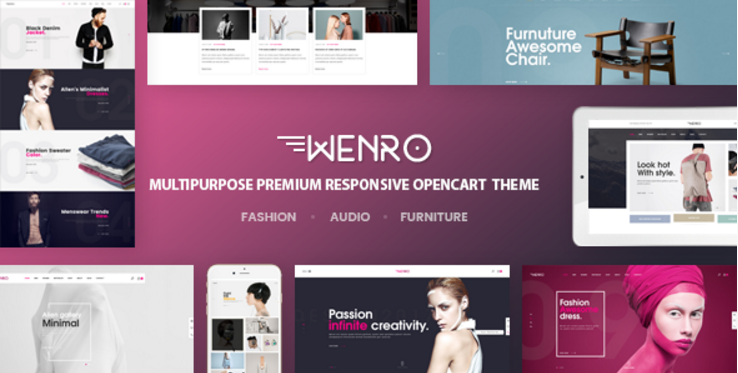 Wenro - Multipurpose Responsive Opencart Theme
