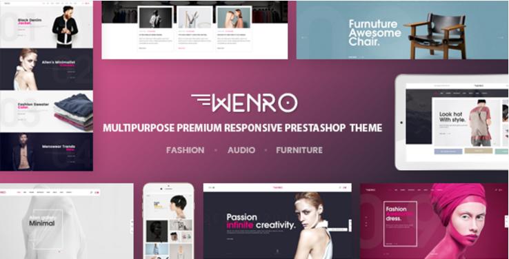 Wenro - Multipurpose Responsive Prestashop Theme