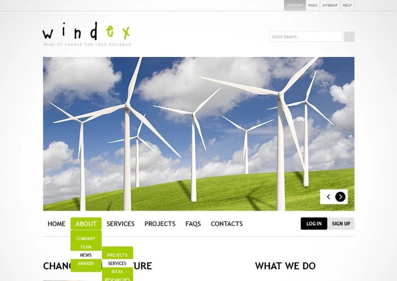 Wind Energy PSD Template