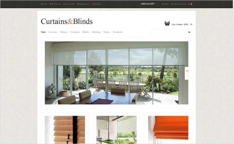 Window Decor Responsive OpenCart Template