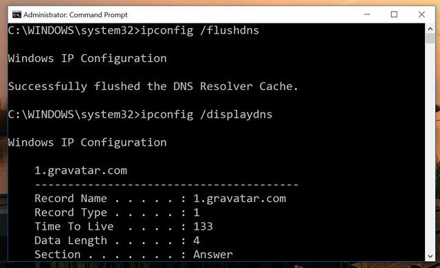 Windows-10-DNS-Commands
