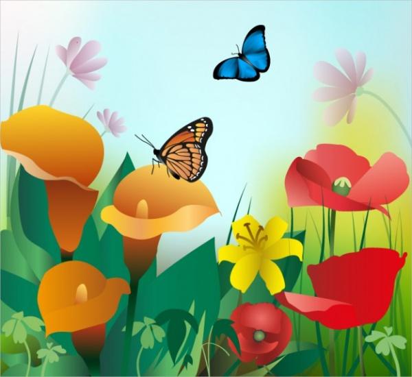 Wonderful-Summer-Flower-Background