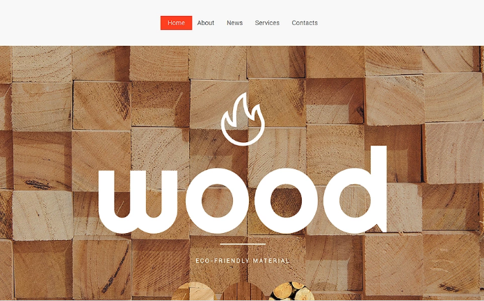 Wooden Flooring Website Template