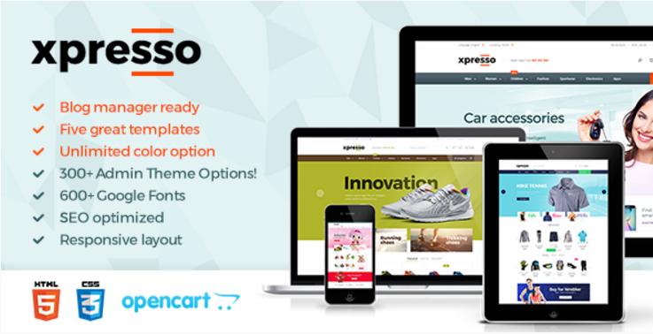 Xpresso - Responsive Multipurpose Opencart Theme