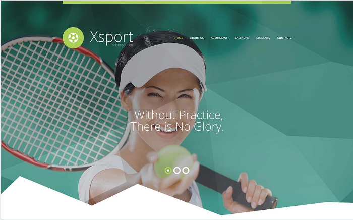 Xsport Website Template