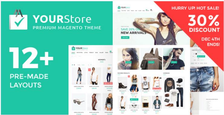 YourStore - Premium Multipurpose Magento theme