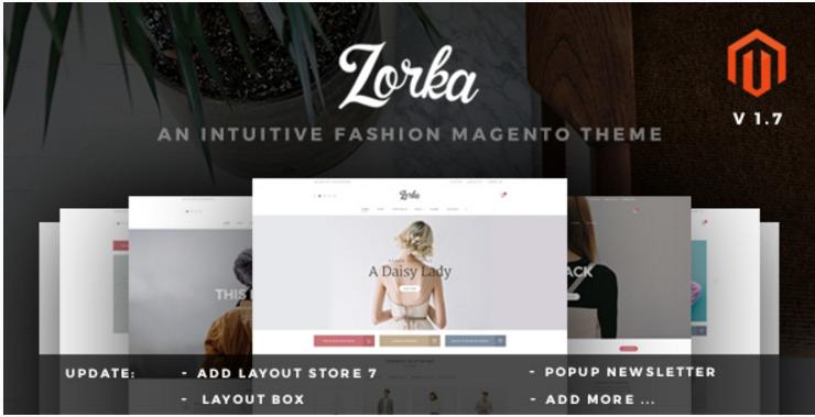 ZORKA – Wonderful Fashion eCommerce Magento Themes