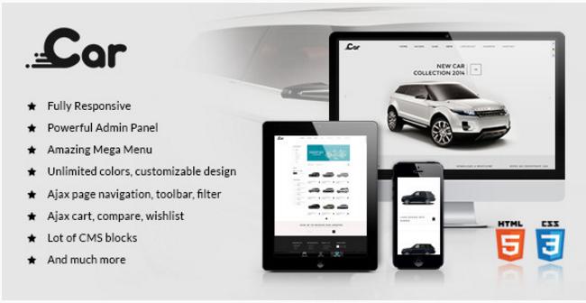 ZT Car - Responsive Joomla Virtuemart Template