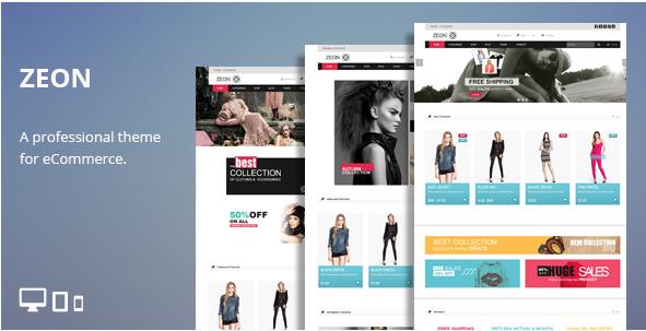 Zeon - eCommerce HTML Theme