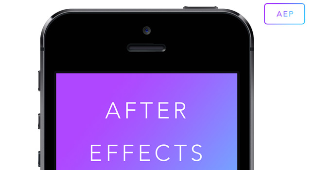 after-effects-iphone-template