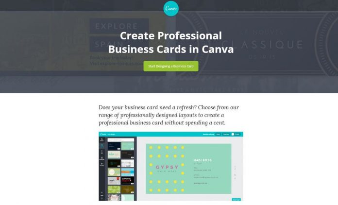 Best Canva Business Cards