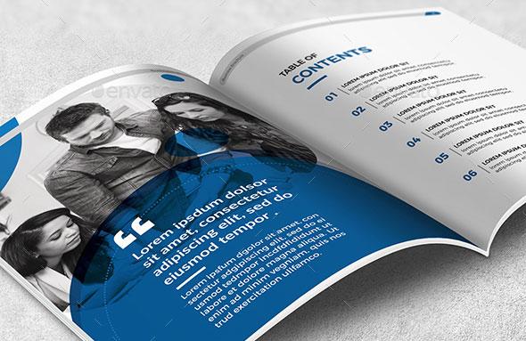 Inspirational Company Profile Design Templates