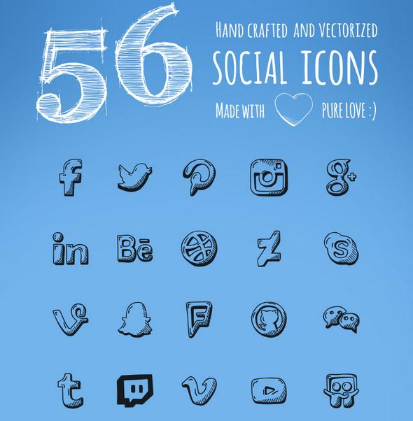 handdrawn-social-icons-bg