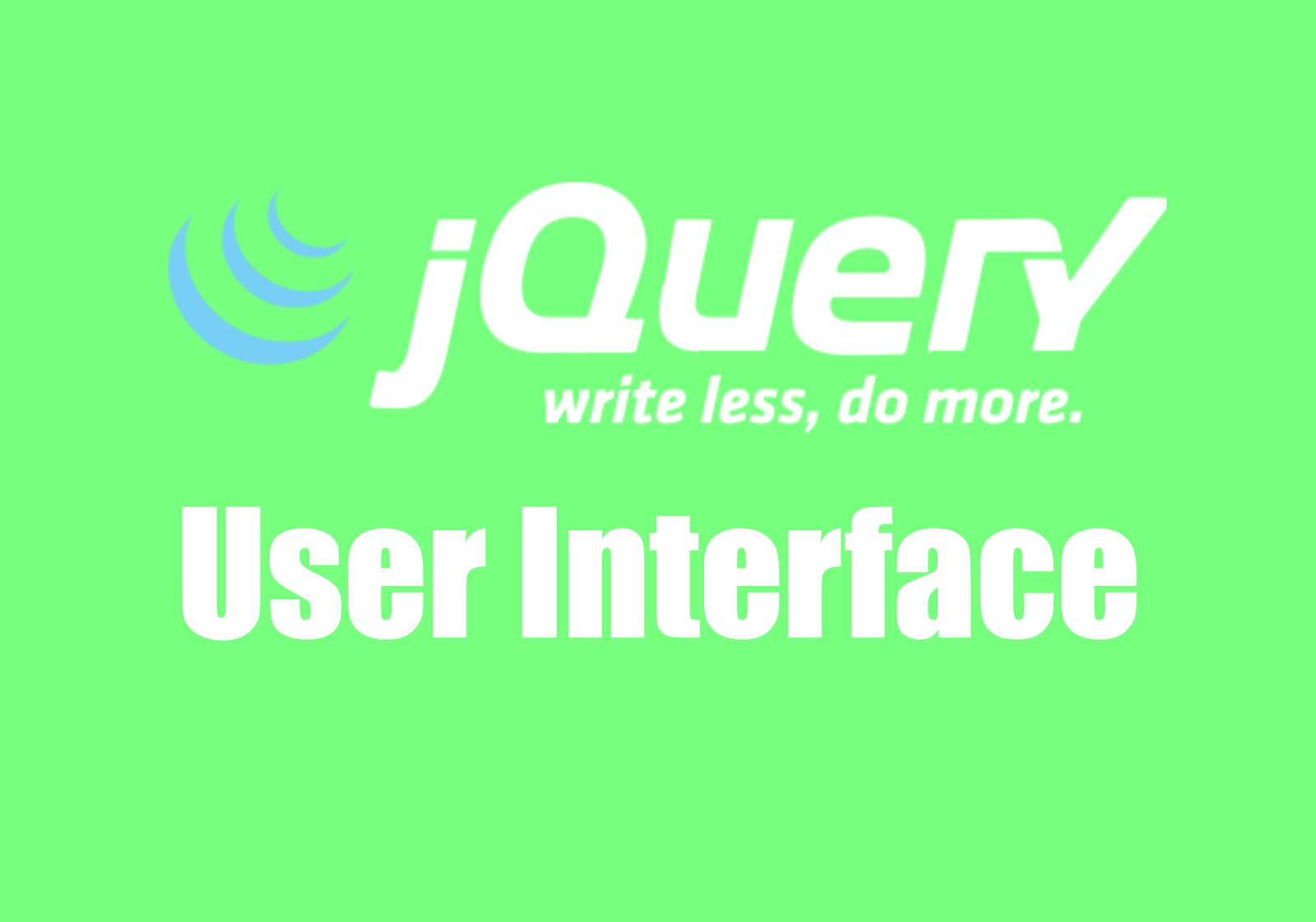 jquery-ui-frameworks