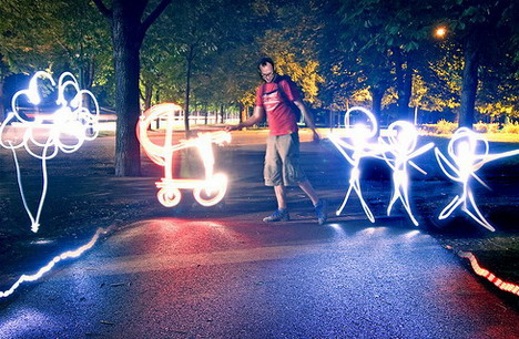 Amazing Light Painting Photography Images