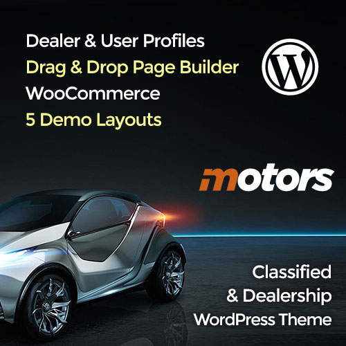 Motor wordpress themes
