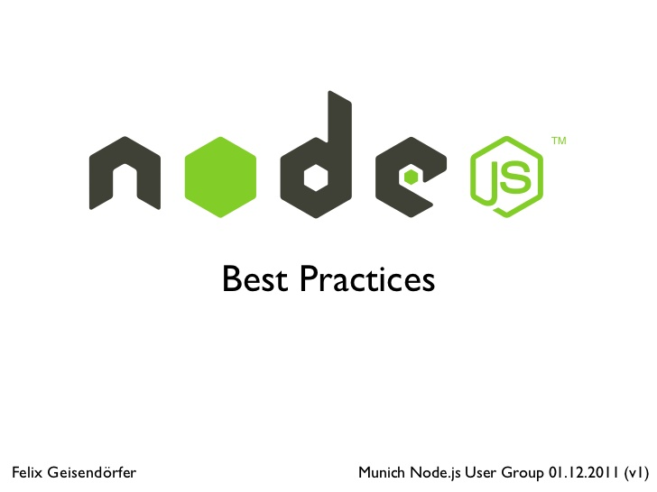 Fabulous Web Application Frameworks For Node.js