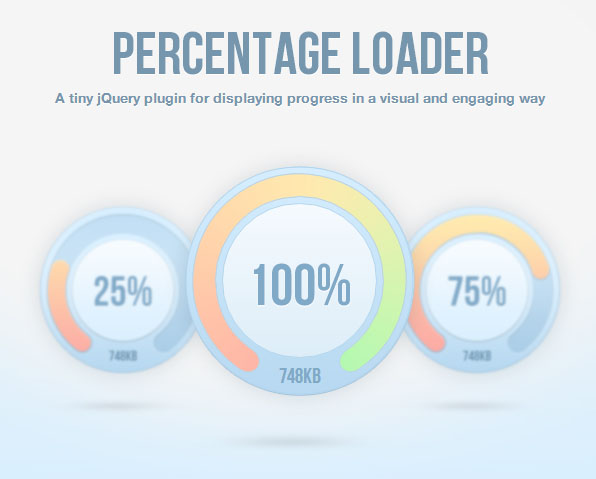 Top Free jQuery CSS3 Progress Bar Plugins