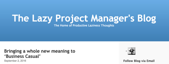 the_lazy_project_managers_blog