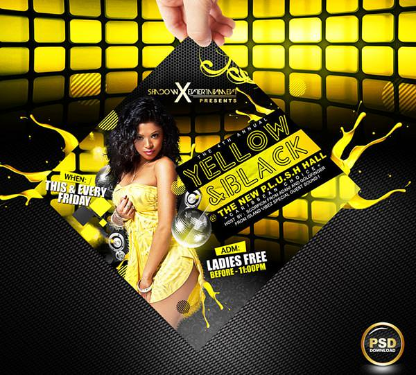 Best Free PSD Party Flyer Designs
