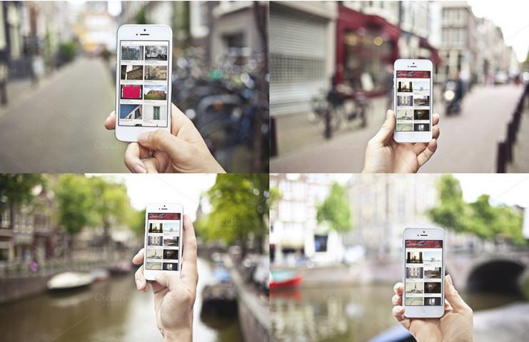 10 Urban iPhone Photo Mockups