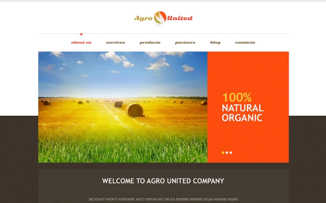 Wordpress Agriculture Themes