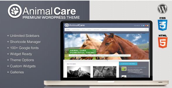 Animal Care - Premium WordPress Theme