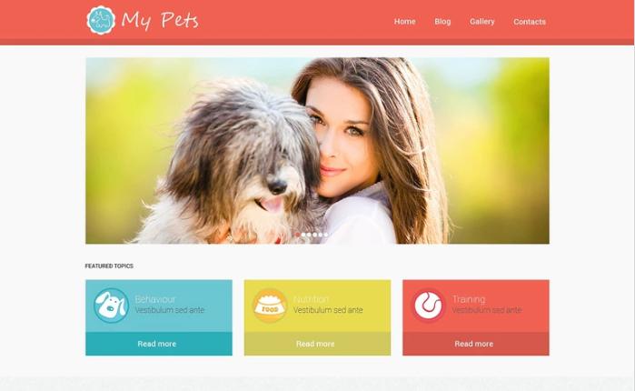 Animal Planet WordPress Theme