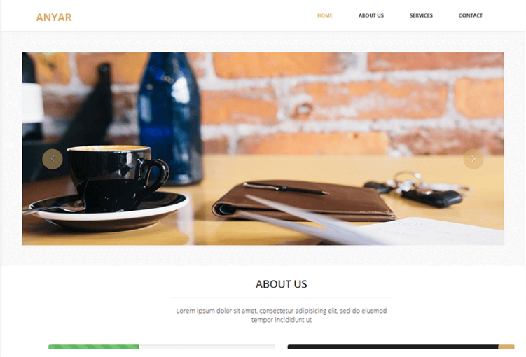 Anyar – Free Multipurpose One Page Bootstrap
