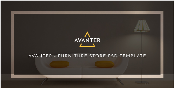 Avanter - Funiture Store PSD Template