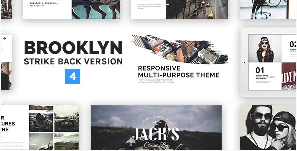 Brooklyn | Responsive Multi-Purpose WordPress Theme