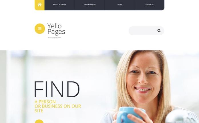 Business Directory Website Template