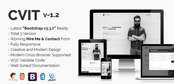 CVIT | Multipurpose Personal Portfolio